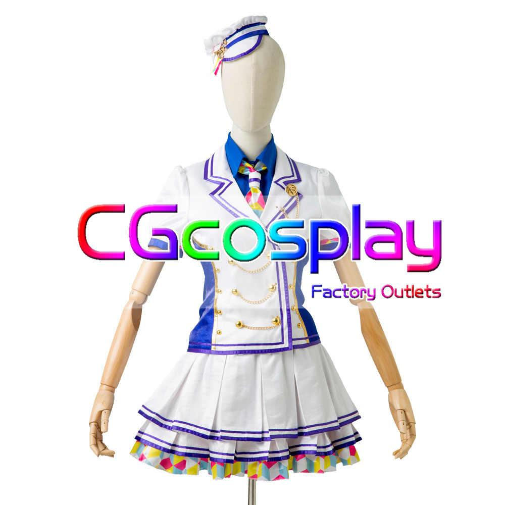 画像1: 激安!! ラブライブ!虹ヶ咲学園スクールアイドル同好会 1周年記念 Cバージョン コスプレ衣装 (1)