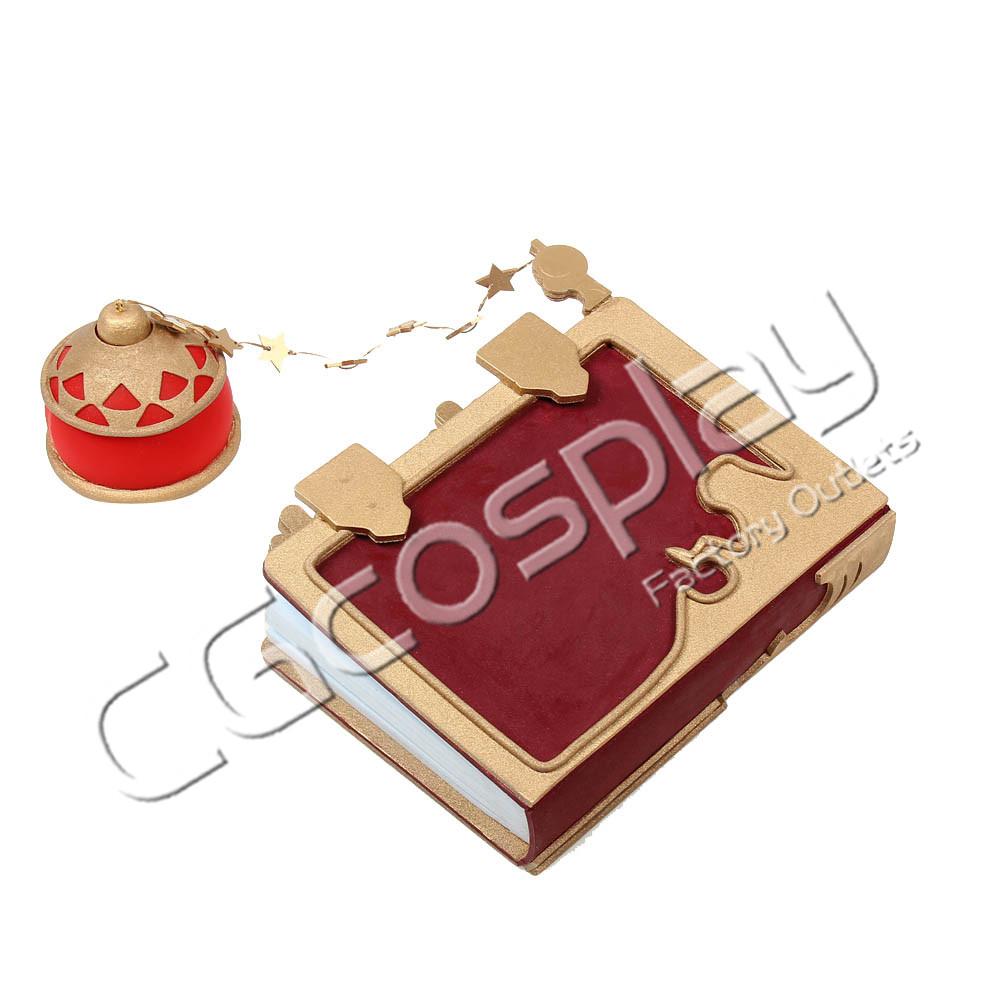 画像1: 激安!! グランブルーファンタジー GRANBLUE FANTASY カリオストロ 本 コスプレ道具 コスプレ衣装 (1)