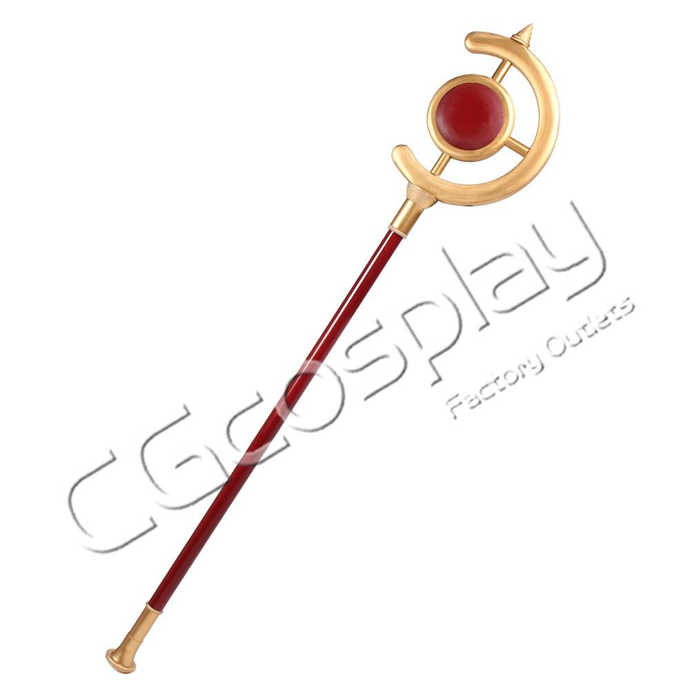画像1: 激安!! 葬送のフリーレン 法の杖 コスプレ道具 コスプレ衣装 (1)