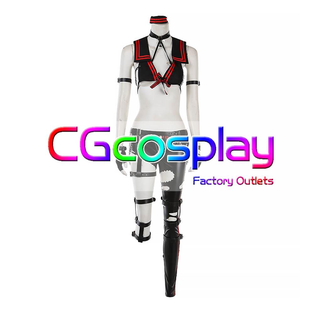 画像1: 激安!! Fate/Grand Order ミステリー・トレジャー 星5概念礼装 黒ジャンヌ コスプレ衣装 (1)
