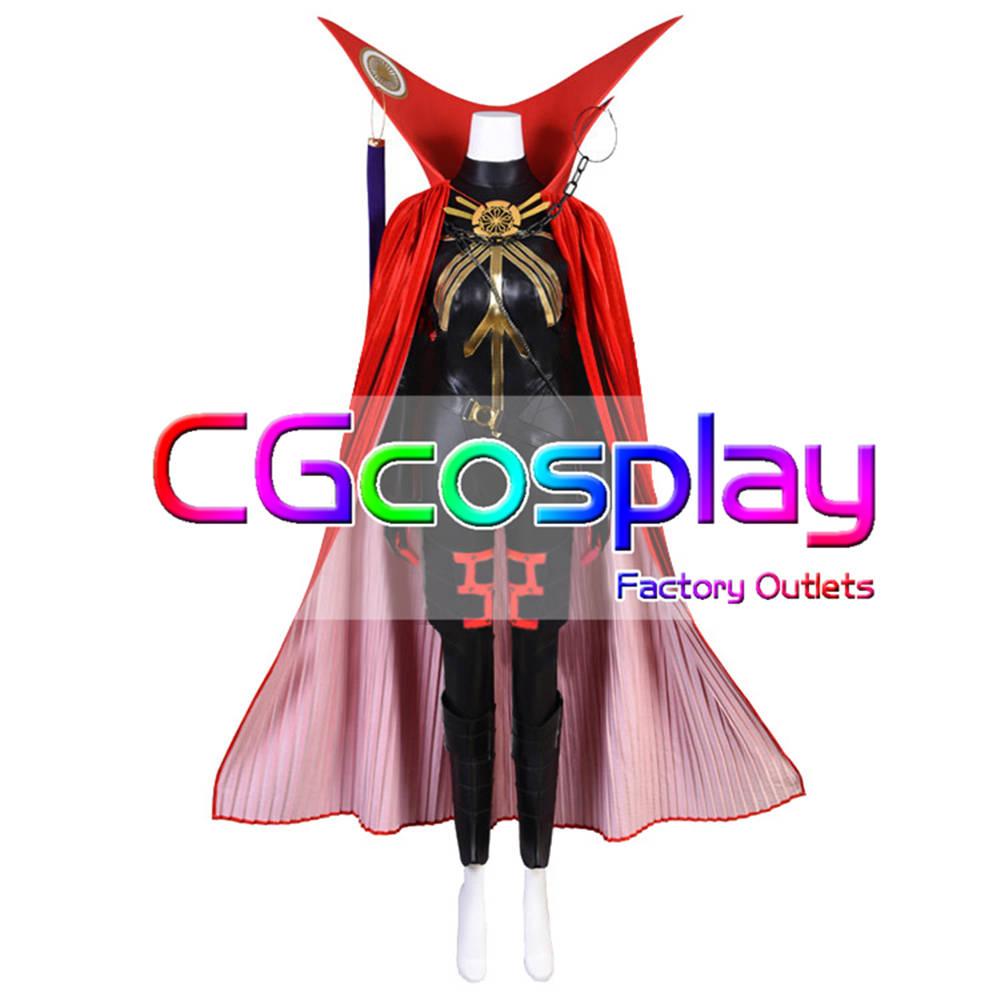 画像1: 激安!! Fate/Grand Order FGO 魔王信長 コスプレ衣装 (1)