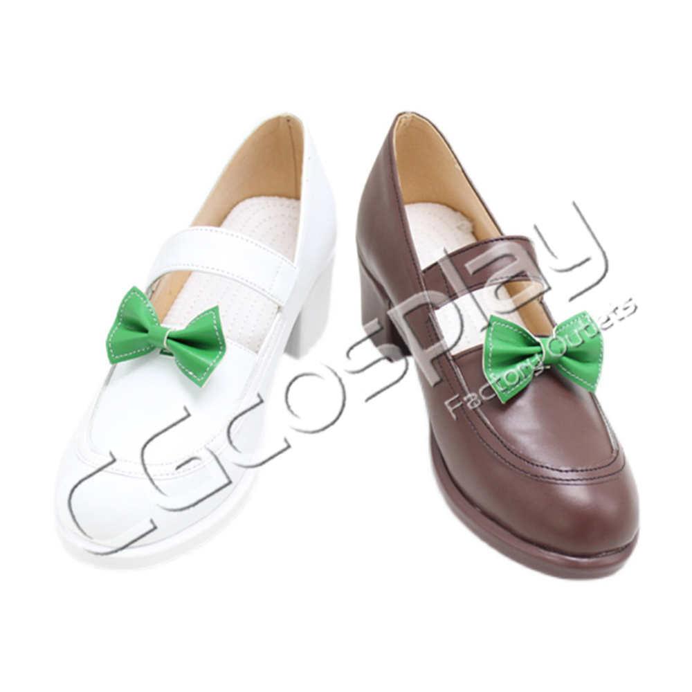 画像1: 激安!! ウマ娘プリティーダービー サイレンススズカ コスプレ靴/ブーツ コスプレ衣装 (1)