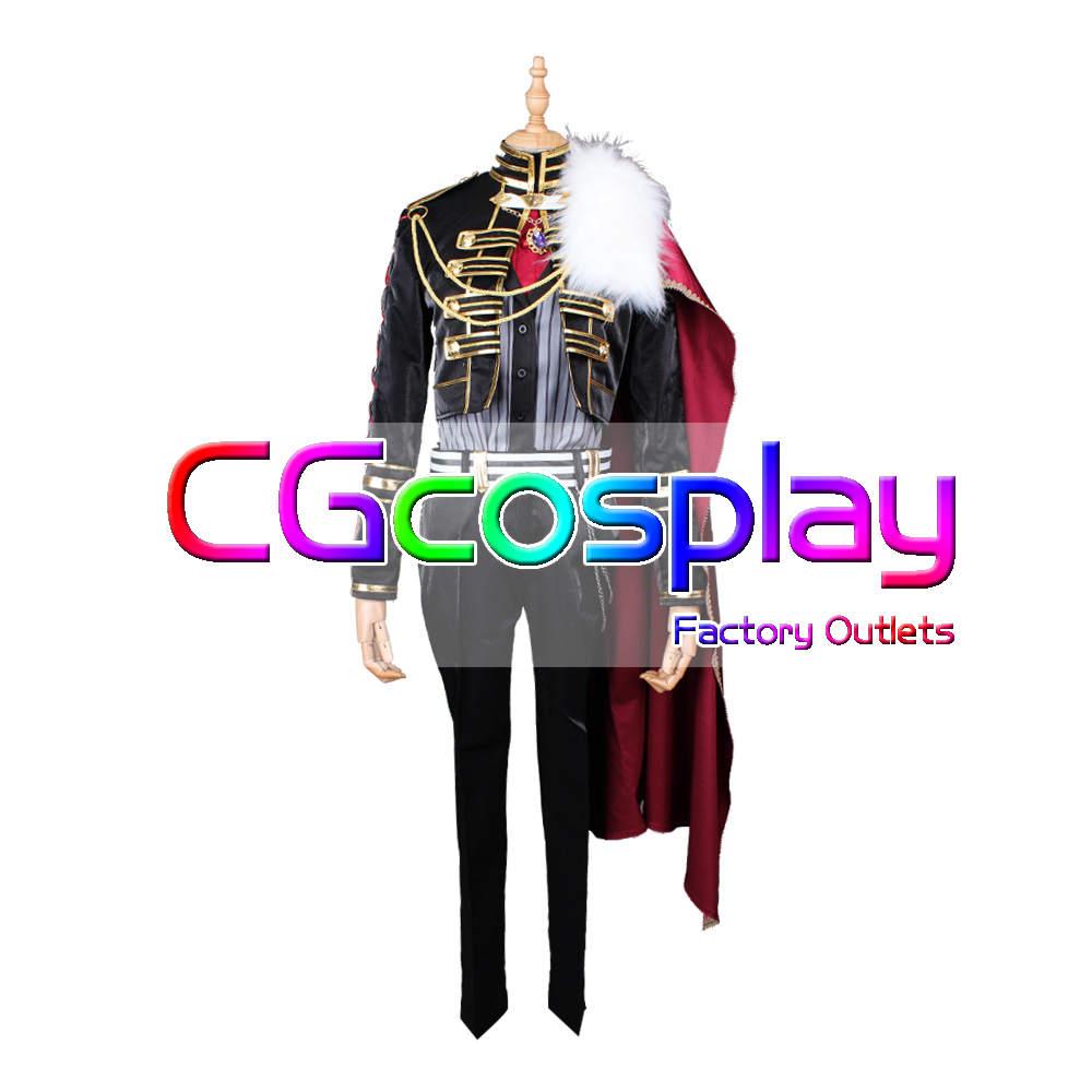 画像1: 激安!! バーチャルYouTuber VTuber 葛葉(くずは) 新衣装 貴族 コスプレ衣装 (1)