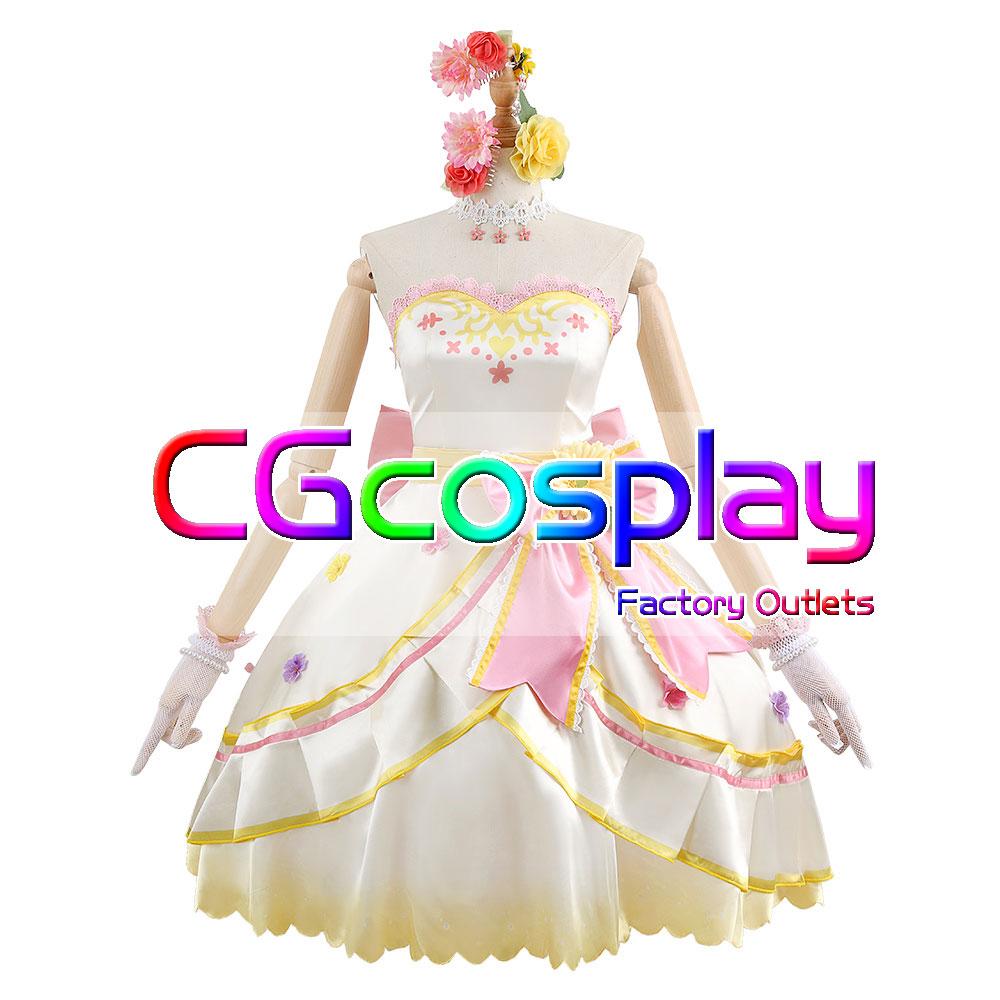 画像1: 激安!! ウマ娘プリティーダービー 花嫁衣装 マヤノトップガン コスプレ衣装 (1)